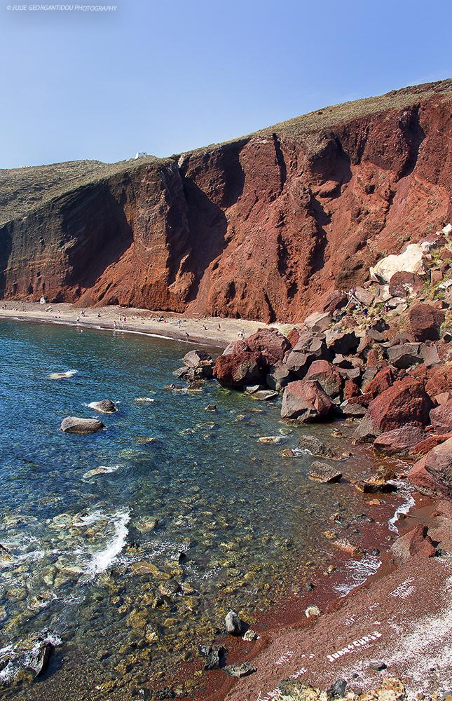 Red beach-Santorini island