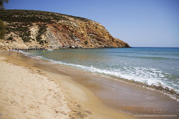 Provatas-Milos island